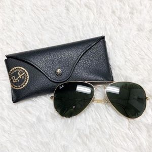 Ray Ban Classic Large Frame Aviator Sunglasses